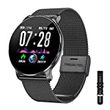 TagoBee TB11 Smartwatch Bluetooth IP68 Pulsera Inteligente Impermeable Reloj Movil HD Touch Screen Fitness Tracker Compatible con Android y iOS para...